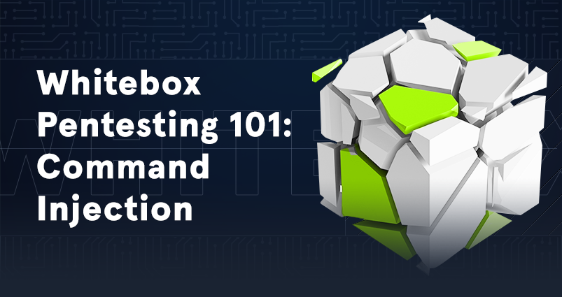 Whitebox Pentesting 101: Command Injection